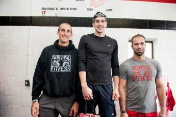 Men's Beginner Podium Sweep by Survival Fitness