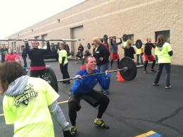 65# Thruster in the Background