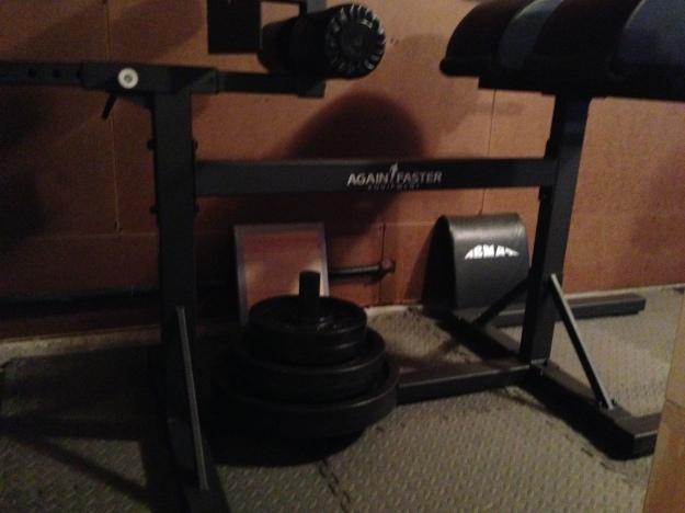 The garage gym unleaded gains nick momrik s crossfit