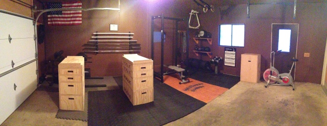 Garage Gym Renovation