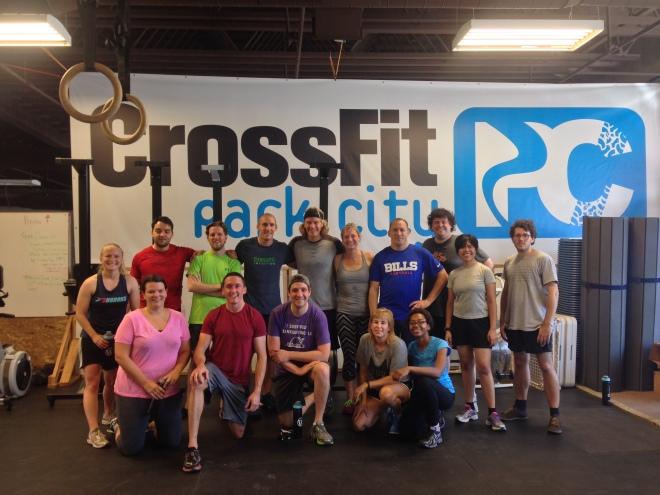 Automatticians at CrossFit Park City