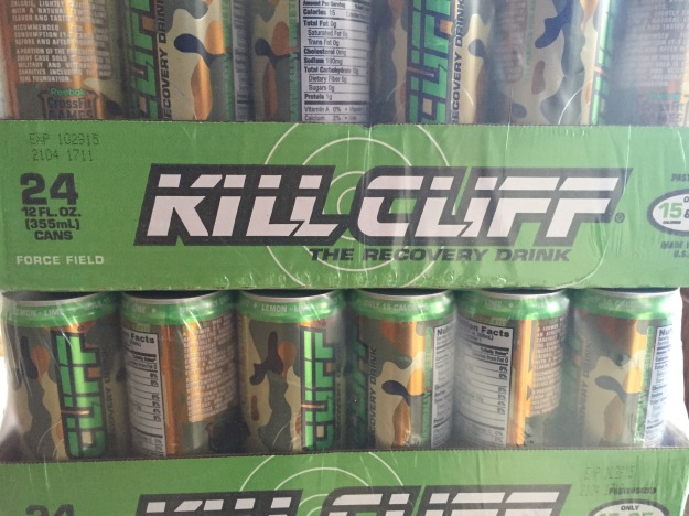 Cases of Kill Cliff