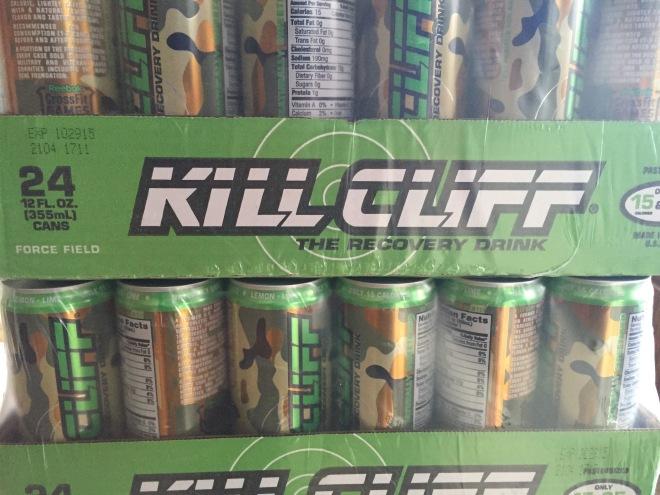 Cases of Kill Cliff