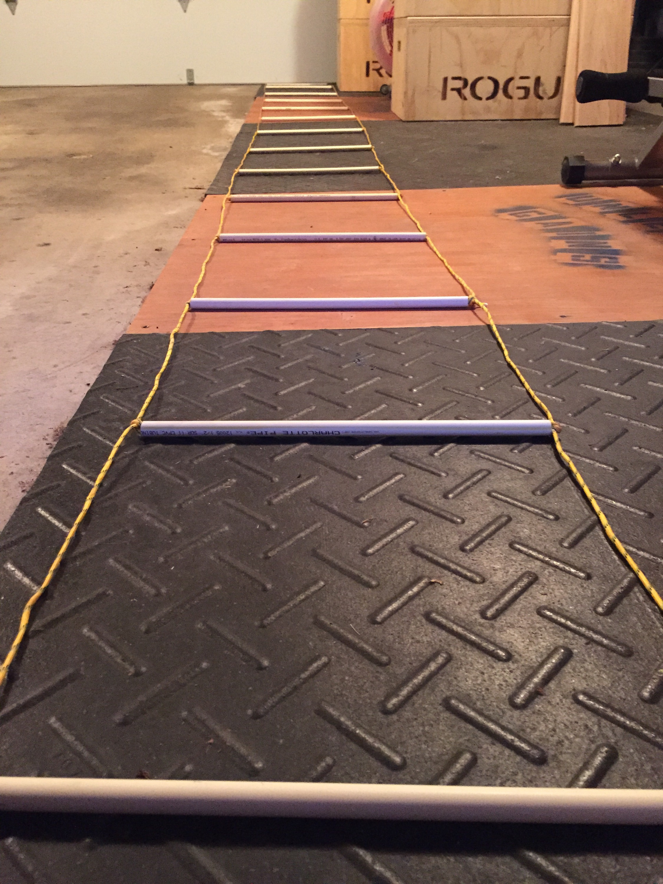 Diy projects nick momrik 39 s crossfit training for Ladder project