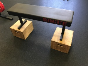 bench-on-boxes
